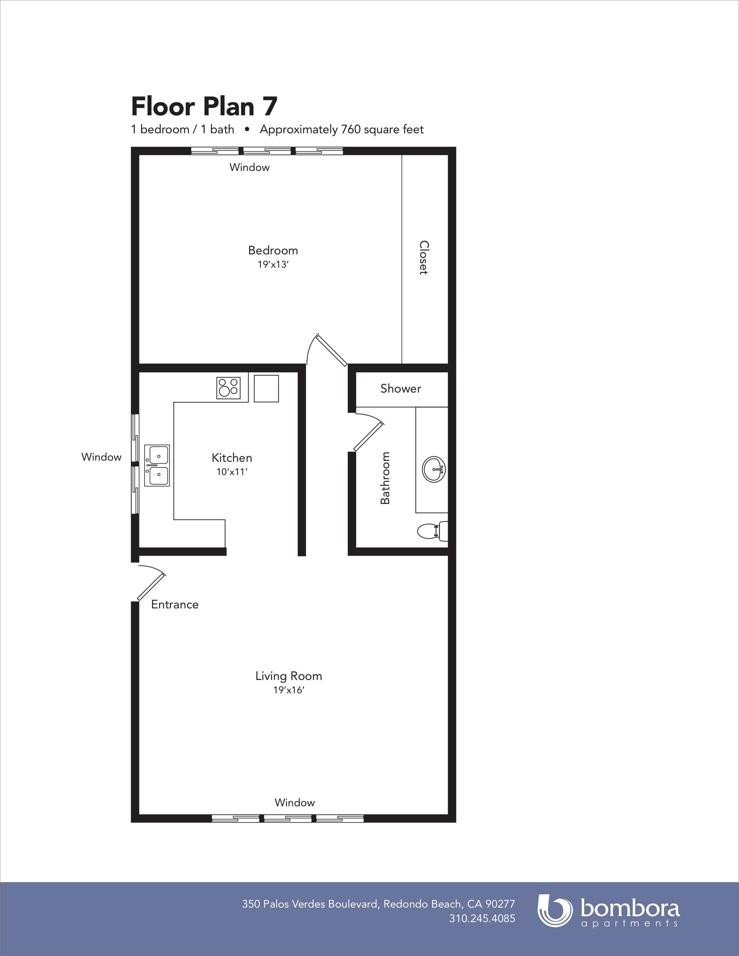 Floor Plan 7 Bombora Apartments